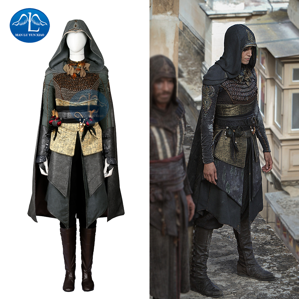 On Sale Manluyunxiao New Arrival Women Assassins Creed Costume