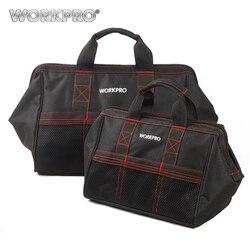 Workpro saco de ferramentas de 2 peças combo 13 & 18 sacos de ferramentas bolsas de viagem à prova dwaterproof água sacos resistentes