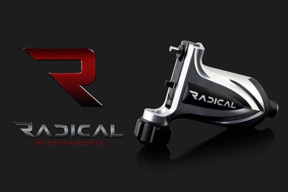 Купить с кэшбэком RADICAL TORETO Aluminium Cartridge Rotary Tattoo Machine
