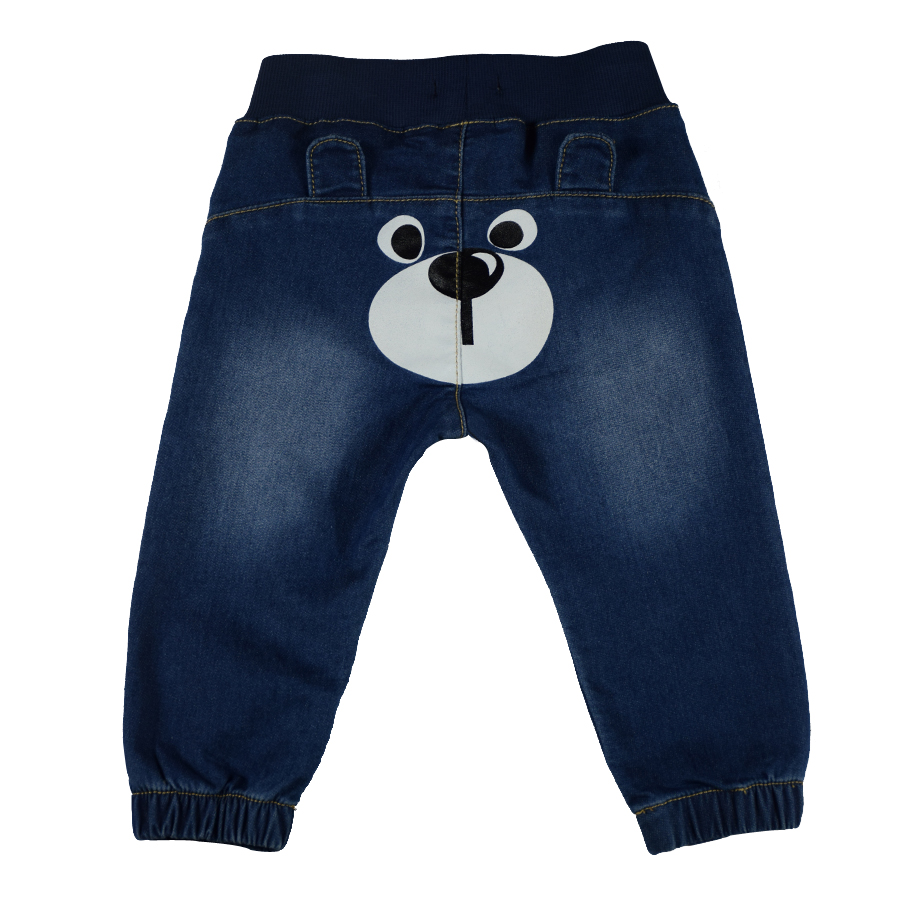 bd9f9a309 Newborn Bebe Jeans Baby Pants Boys Trousers Girls Leggings Winter ...