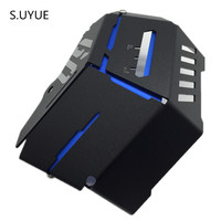 S.UYUE Radiator Water Coolant Resevoir Tank Guard Cover For YAMAHA MT 09 MT09 FZ 09 FZ09 2014 2015 2016