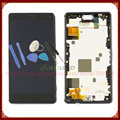 For Sony Xperia Z3 Mini Z3 Compact LCD Display Screen with Touch Screen Digitizer Assembly with Frame + Tools Free Shipping