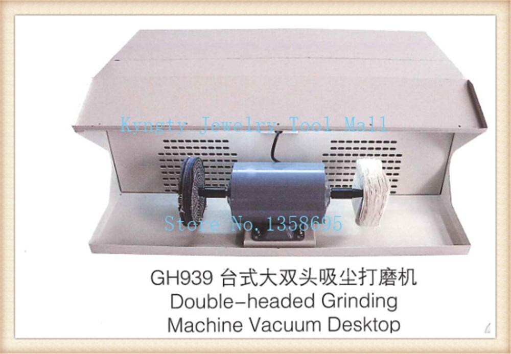 Двойной головки шлифовальные машины украшения стола полировщик полировка двигателя пылесборник
