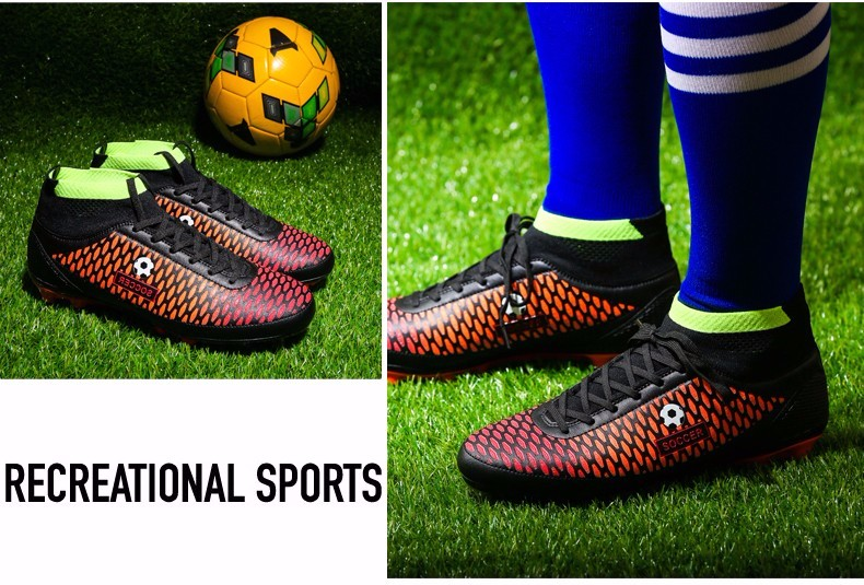 High Ankle Football Boots Kids Botines Botas Futbol 2017 Youth Superfly Soccer Sports Shoes Outdoor Training Sneakers Hot Sale18