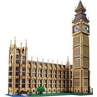 Large 4164pcs World Famous Architecture Creator Big Ben In London Model Building Block Bricks Compatible City