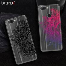 UTOPER Lace Flower Case For ZTE Nubia V9 Case Silicon Soft Cover For ZTE Blade V8 Lite Case For ZTE Nubia M2 Coque For Blade V 8(China)