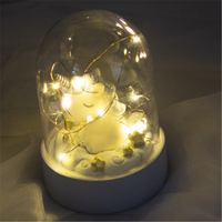 Fairy Unicorn Night Light Luminaria LED String Lights Novelty Lighting Toy Doll for Kids Christmas Gift