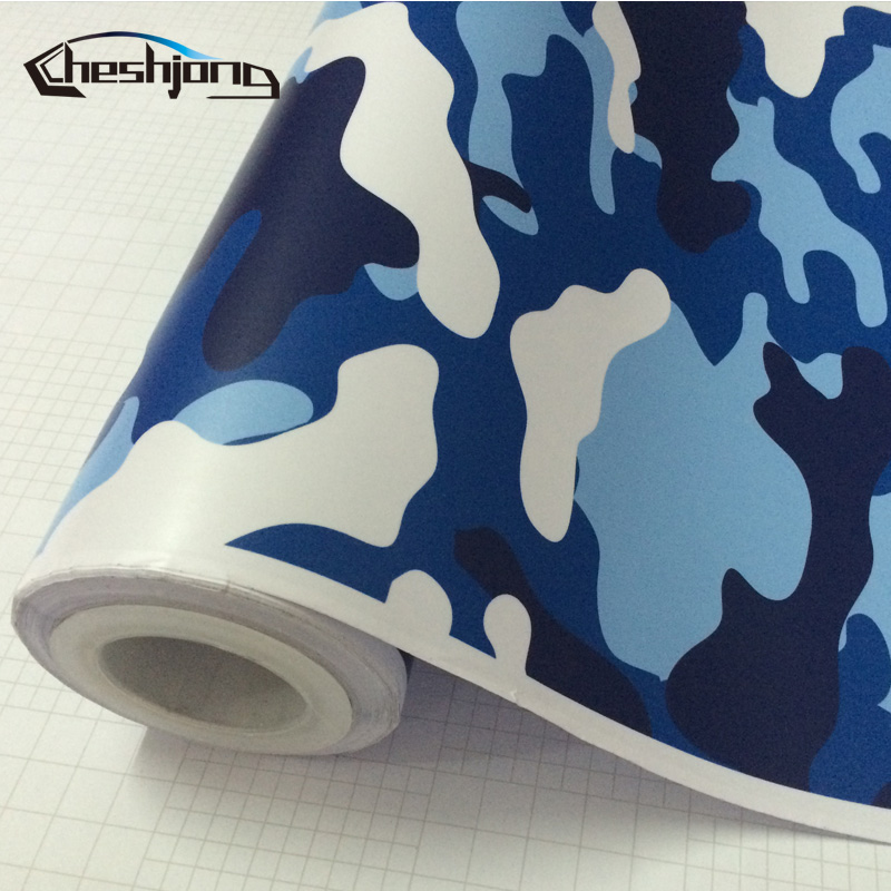 Matte-Finished-Jumbo-Blue-Camo-Car-Vinyl-Wrap-Urban-Sticker-Bomb-Camouflage-Printed-Graphics-Pvc-Material-Roll-Sheet