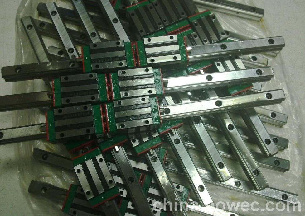 CNC 100% HIWIN HGR45-2100MM Rail linear guide from taiwan free shipping to japan cnc hiwin 4 stes egh20ca 1r2380 zoc dd block rail set rail linear guide from taiwan