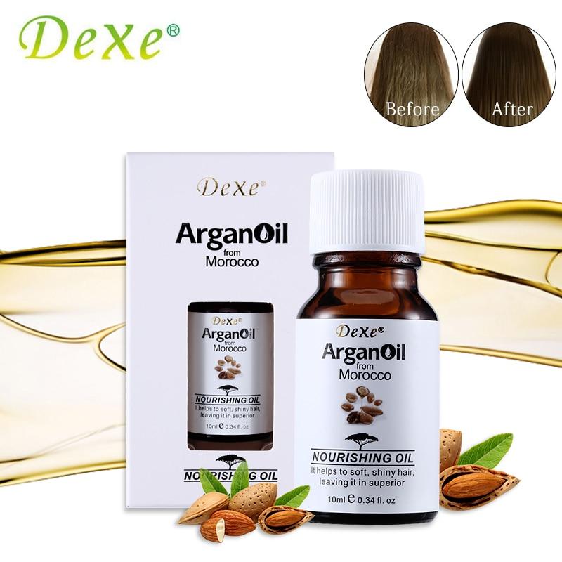 Dexe Brand Hair Care Argan Oil Pure From Morocco Arganovoe Oil 10ml Moroccan Nou