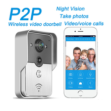 Upgrade Wifi Video Door Phone Bell Wireless Intercom Support POE Power supply Wifi 3G IOS Android