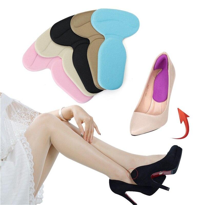 1 Paar Frauen Mode Silikon Gel Ferse Kissen Protector Schuh Insert Pad Einlegesohle Beste Geschenk Hohe Ferse Einlegesohle Schuh Kissen Ht-5 Einlagen & Kissen