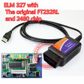 Elm 327 usb com O chip FT232RL originais e PIC18F2480 o elmconfig software elm327 usb do scanner obd