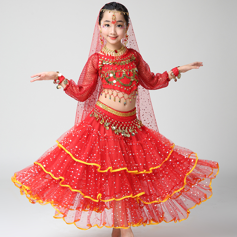 f09fba912 Girl Children Child Belly Dance Costume Bollywood Indian Bellydance Belly  Dancing Costumes 4pcs Sets Egypt Set Egyptian Clothing Sc 1 St Google Sites