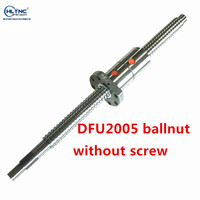 DFU2005 DFU2005 ballscrew double nut 20mm ball screw nut CNC DIY Carving machine parts