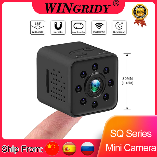 Original Mini Camera WIFI Camera SQ13 SQ23 SQ11 SQ12 FULL HD 1080P Night Vision Waterproof shell CMOS Sensor Recorder Camcorder