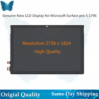 Original new LCD For Microsoft surface pro 5 1796 lcd display touch screen glass digitizer assembly LP123WQ1(SP)(A2)