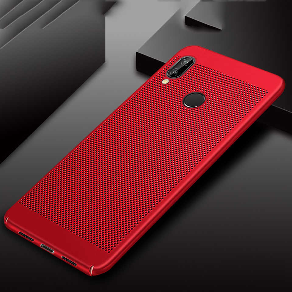 Heat Dissipation Case For Huawei P20 Case Plastic P10 P9 P8 Lite 2017 Mate 20 10 9 Nova 3 Cover Phone Cases Honor 8 8X 7X 7A 7C