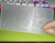 Plastic 6*12cm New 1PC Lace Design Nail Stamping Plates Nail Art Image Konad Stampping Nail Art Plates Manicure Template,, JKL08 недорого