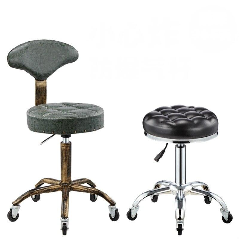 Chaise De Salon pivotante De levage Cadeira De Barbeiro chaise De coiffeur multifonction tabourets De barbier tabouret De beauté Barbearia