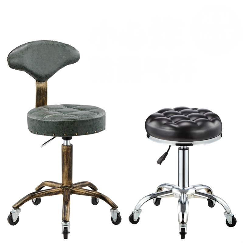 Lifting Swivel Salon Chair Cadeira De Barbeiro Multifunction Hairdresser Chair Barber Stools Beauty Stool Barbearia