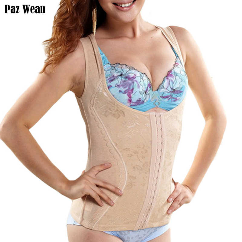 fc91660c7ae12 100% Cotton Postpartum Recovery Tummy Shape Wear for Shapewear Women Body  Shaper Slimming Corset Vest