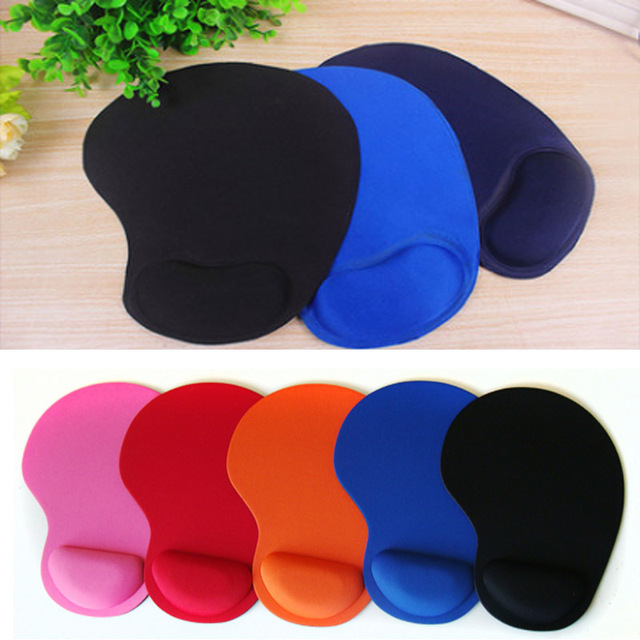 Yuzuoan Hot Support Wrist Comfort Mouse Pad Optical Trackball PC Thicken Mouse Pad Colorful for Game 8 Colors For CSGO DOTA2 LOL