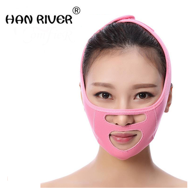 Thin mask sleep with the thin face beauty facial bandage promote legal grain double chin thin face workpiece v facial beauty too high quality airsoft mask pc the lens used for cs welding polishing dust the face protect mask splash proof material safety mask