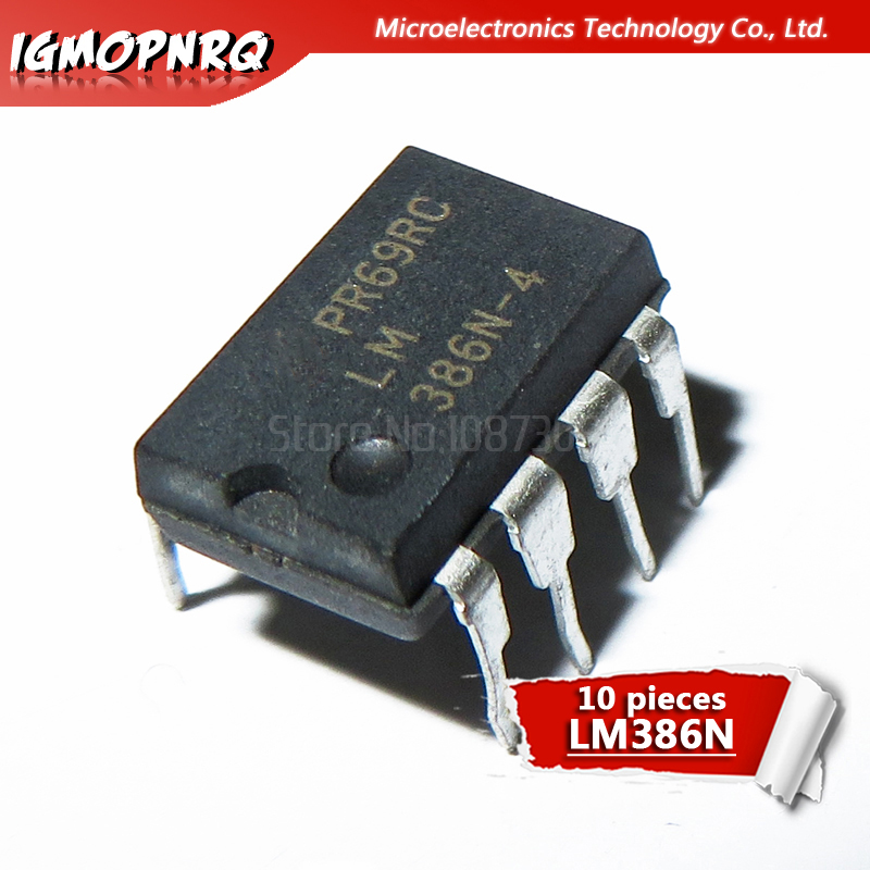 10pcs LM386 LM386N LM386M LM386L O Amplifiers LOW VLTG AUDIO PWR AMP DIP-8 New Original