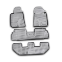 Floor mats for Toyota Corolla Verso I 2004~2009 rugs non slip polyurethane dirt protection interior car styling accessories