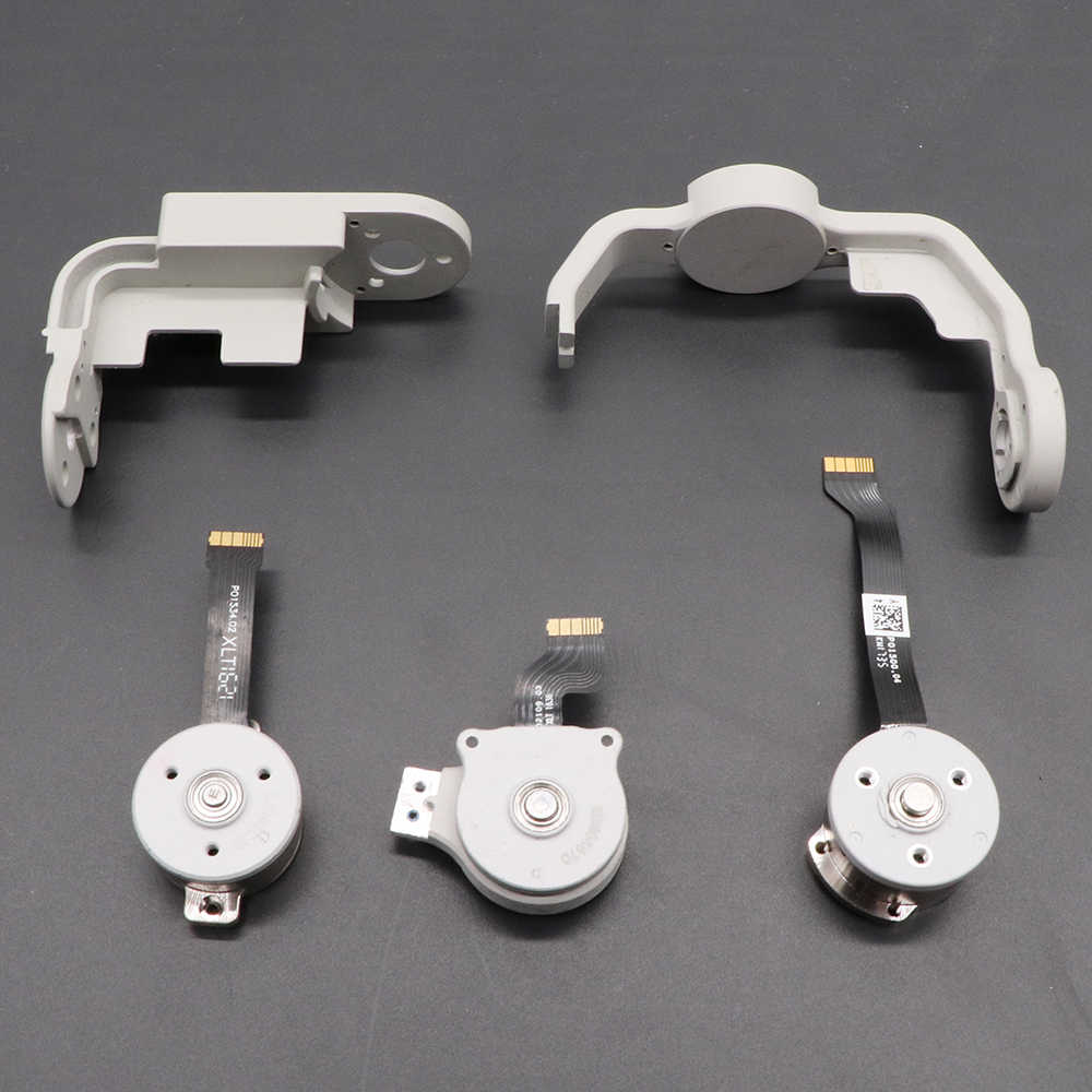 Original USED DJI Phantom 4/Phantom 4 Pro Gimbal Camera Yaw Roll Bracket Arm/Pitch Roll Yaw Motor for dji phantom 4/4 pro