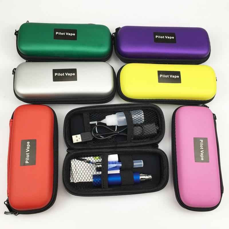 Pilot vape EGo CE4 Electronic Cigarette Starter Kits 650-1300mAh Ego Zipper Carry Case Battery eGo CE4 E Cig Pen Kit 10 color стоимость