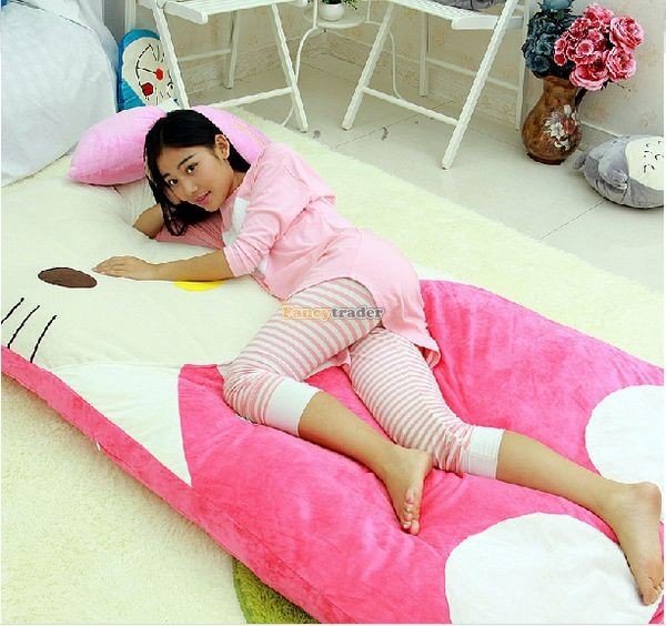 Fancytrader 200cm X 180cm Lovely Plush Stuffed Hello Kitty Mattress Bed Tatami Sofa Carpet, FT50670 (5)