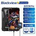 Blackview BV9700 Pro IP68/IP69K прочный мобильный Helio P70 Восьмиядерный 6 ГБ ОЗУ 128 Гб ПЗУ 5,84