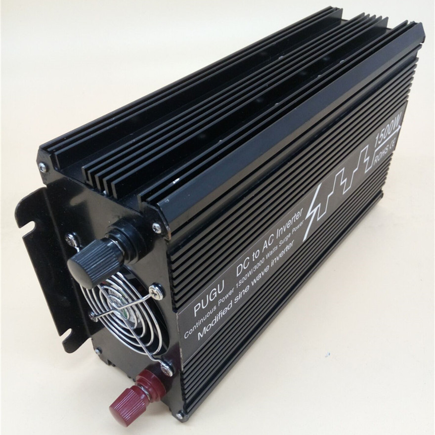 1500W/3000W Modified Sine Wave Inverter DC 12V 24V 48V to AC 110V 220V,Off Grid Inversor Portable 1500W/3000W Power Inverter smart shine series modified sine wave inverter 1500w clm1500a dc 12v 24v to ac 110v 220v 1500w surge power 3000w