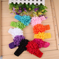 2017 Fashion 10pcs Baby Toddler Lace Flower Headband Hair Band Accessories Headwear LD789