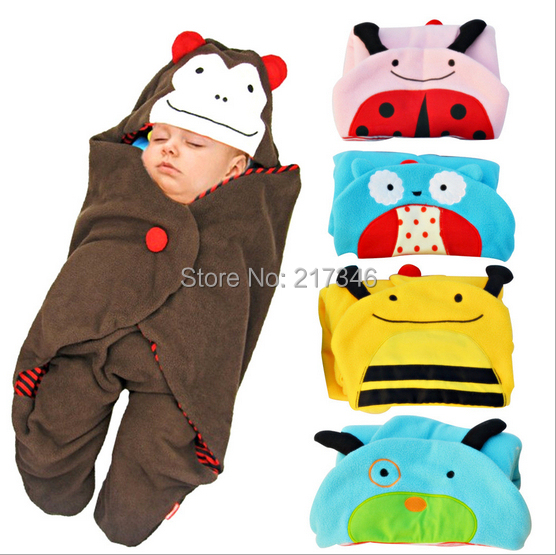 New fashion Lovely cartoon Baby Sleepsacks baby Sleeping Bags baby receiving blankets children accessories B0043