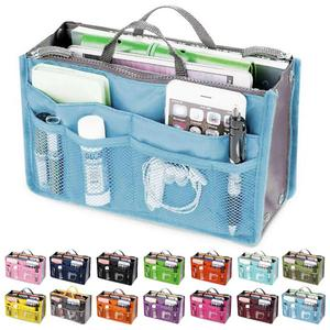Fashion Makeup Bags Large Capacity Nylon Cosmetic Storage Bag Travel Insert Organizer Handbag Purse Makeup Bag For Women Female(China)