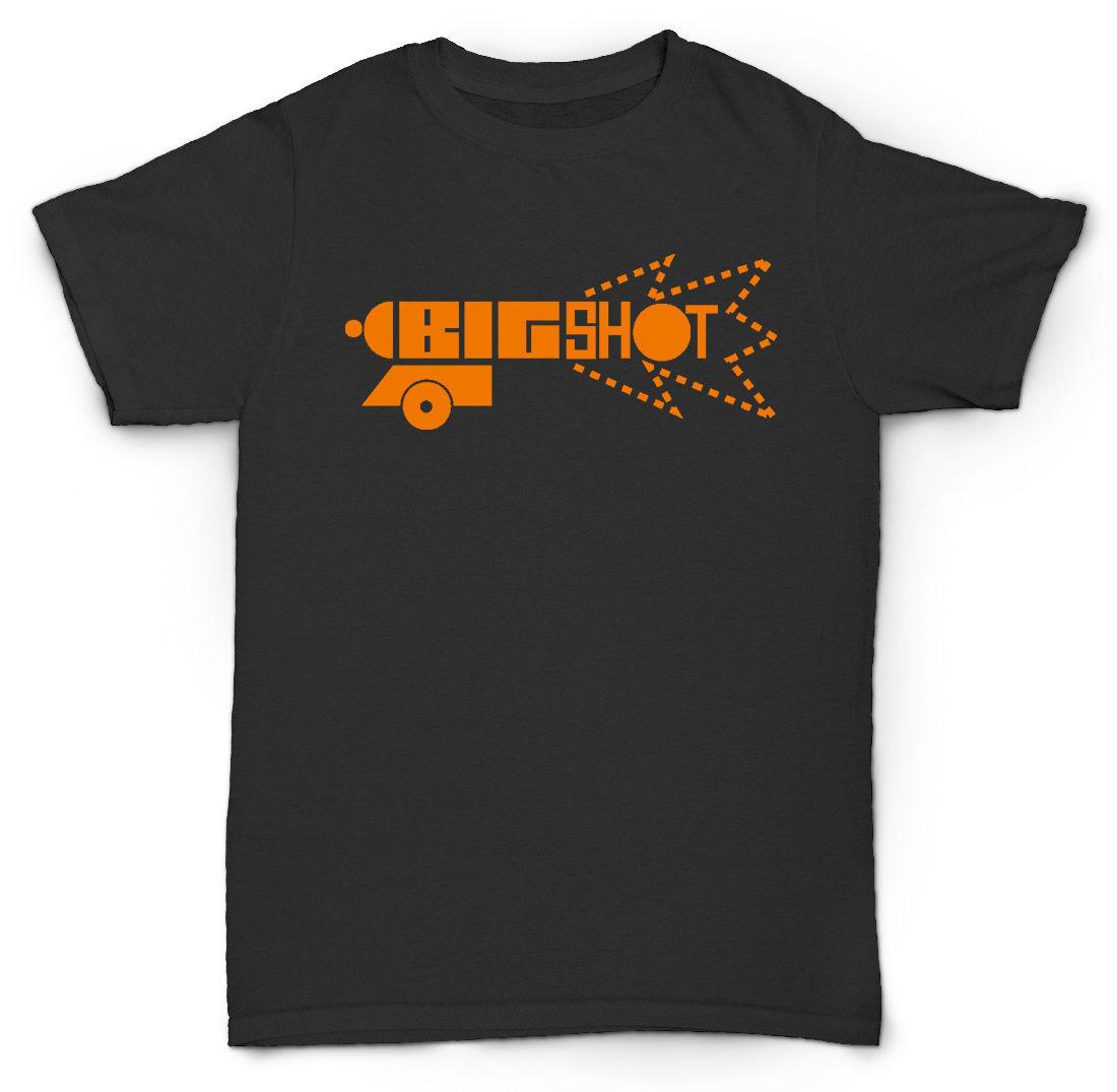 BIG SHOT записей футболка STUDIO 1 TROJAN судья страх MOD футболка Для мужчин короткий рукав