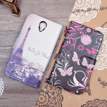 For Lenovo A859 For Lenovo A2010A Dual Sim LTE For Lenovo A916 Leather Case Cover Wallet with Stand and ID Card Slots