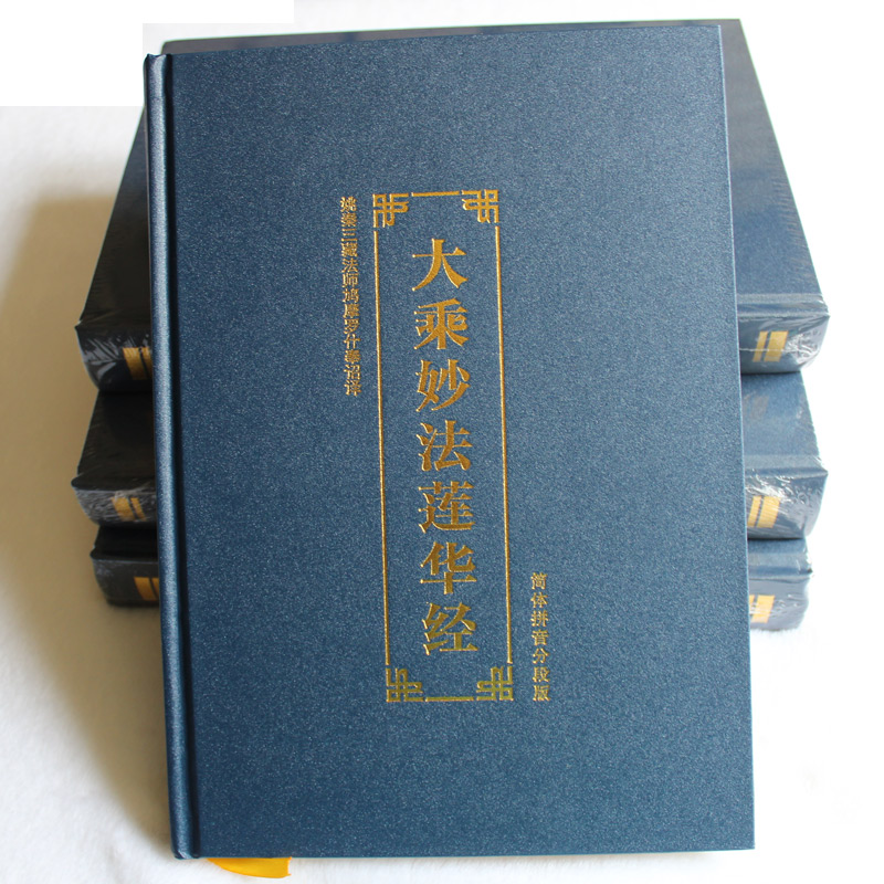 Miao Hua Lian Hua Jing (Dharma Flower Sutra) with Transliteration of Chinese Sounds (pinying) lectures on the heart sutra master q s lectures on buddhist sutra language chinese