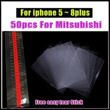 100 OCA Adesivo Óptico Claro para o iphone 6 pçs/lote 6 S 7 8 além de Cola OCA para iPhone 5 5S 5C LCD Touch Lente de Vidro Filme