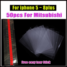 100 ピース/ロット OCA クリア光学接着のための iphone 6 6 S 7 8 プラス OCA iphone 5 5 S 5C 液晶タッチガラスレンズフィルム