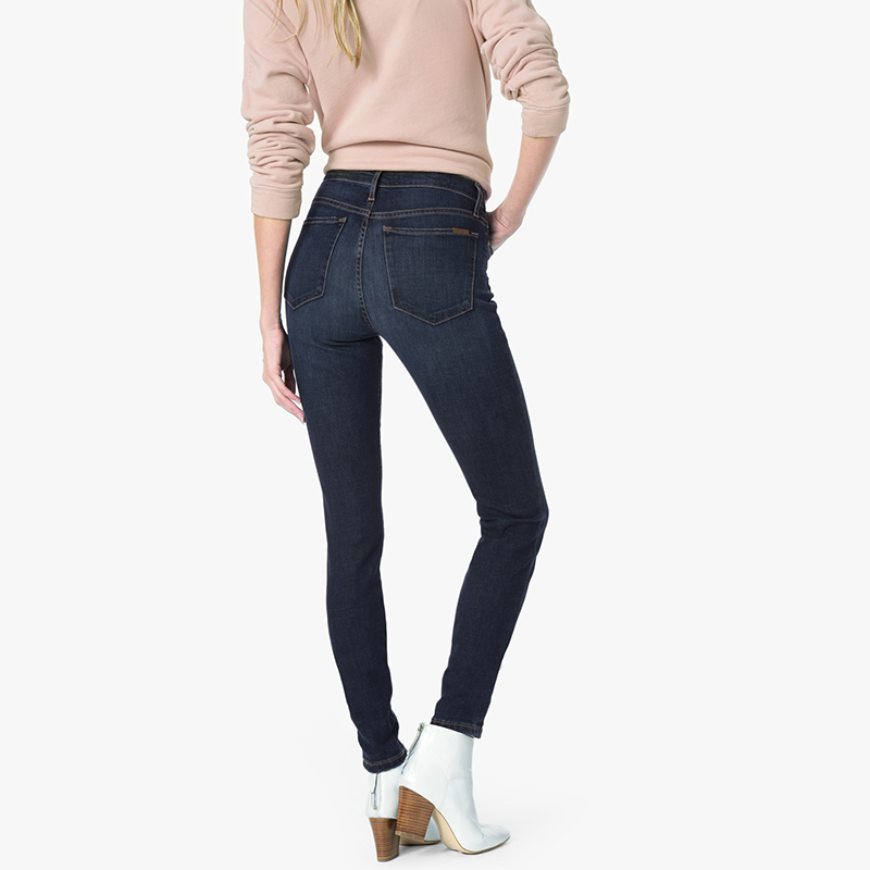MODABERRIES JEANS WOMAN'S SKINNY JEANS STRETCHY MATERIAL MID/HIGH RISE JEANS THE TRUE SECOND SKIN ANASTASIA #17084 2017 spring elastic frayed skinny jeans women classic high rise with rips two colors