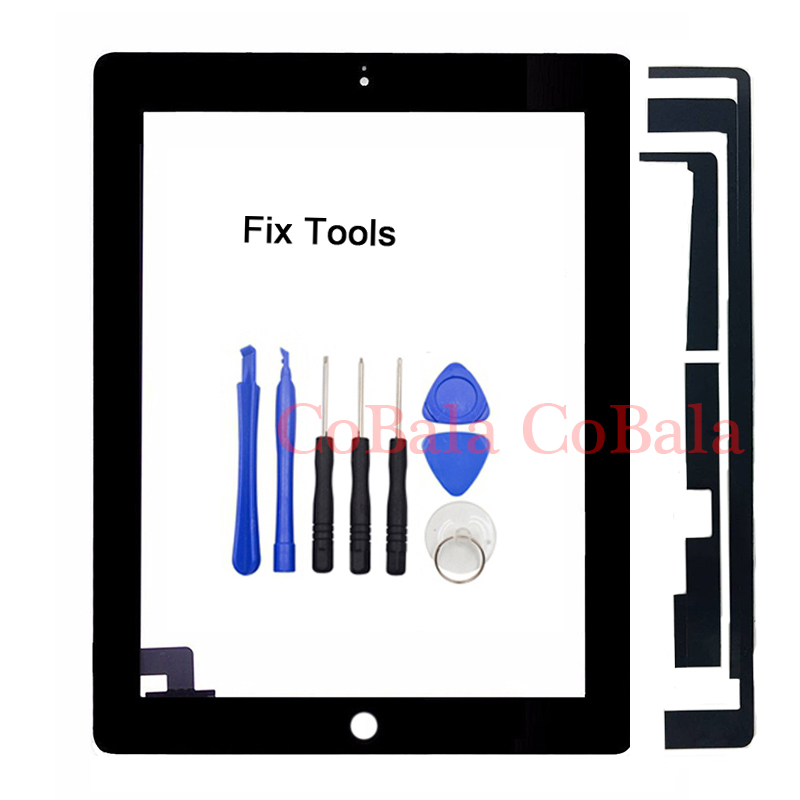 1Pcs For iPad 2 2nd Gen A1395 A1396 A1397 9.7 LCD Outer Touch Screen Digitizer Front Glass Panel Replacement 5pcs set white black new grade aaa 7 9 inch for ipad 2 a1395 a1396 a1397 digitizer touch screen glass panel sensor replacement