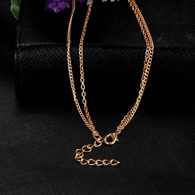 Trendy Geometric Multilayer Necklace