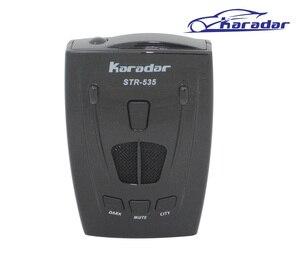 KARADAR Russia Strelka Car Radar Laser Detector STR535 with full bands and strelka robot K ka X later anti radar car detector