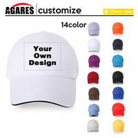 20 pairs your own brand logo design / personalized white photo men and women baseball cap embroidery funny t shirt men hat S 8