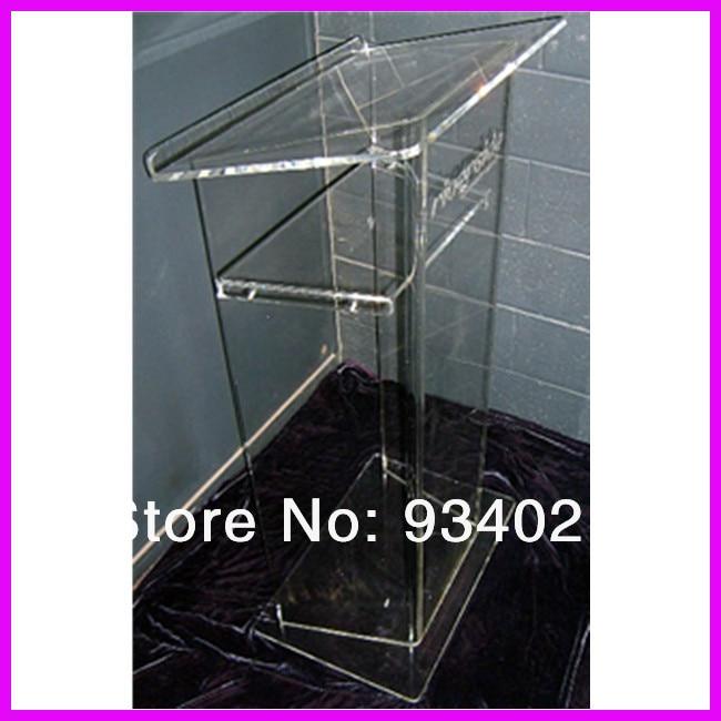 Clear Acrylic Lectern Stand plexiglass