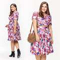 Women Dress Elegant Evening Lady Dresses Maternity Pregnancy Women Floral Clothing Pregnant Large Size Cute New Clothes 70R0026